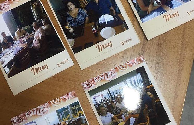 EVENTO BABYBEEF DIA DAS MAES MÂES IPIXX TOTEM KBINE DE FOTO CABINE DE FOTO INSTAPIXX REVELAÇÃO INSTAGRAM FOTOS IMANTADAS IMA DE GELADEIRA LEMBRANÇA SUCESSO IPIXX
